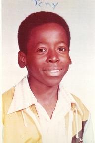 Tony at age 13